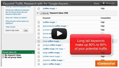 Uncovering High-Traffic Niches With Google's Keyword Tool