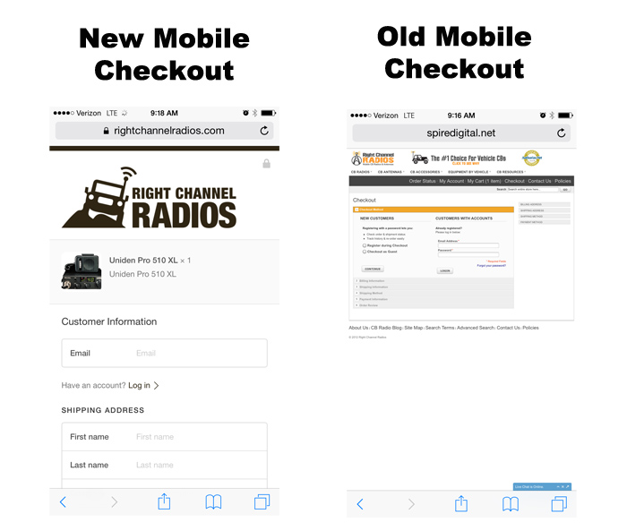 Mobile-Checkout-Comparison