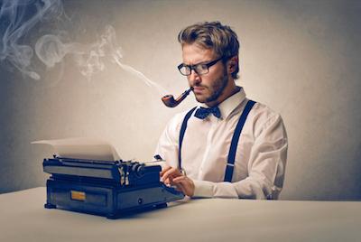 傳理出路 - A man is typing