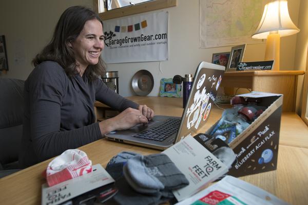 Amy Hatch, owner of Garage Grown Gear