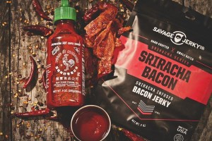Srirach Bacon Jerky