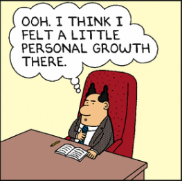 Dilbert Personal Growth