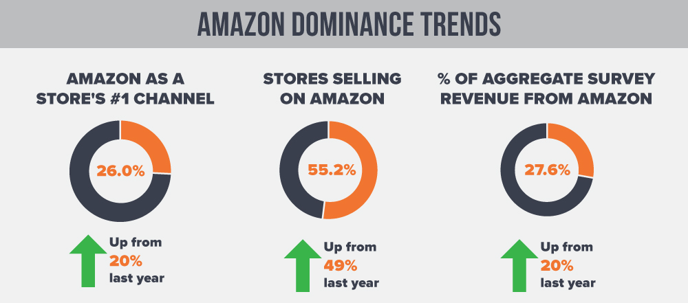 Amazon Market Share and Revenue Growth 2018