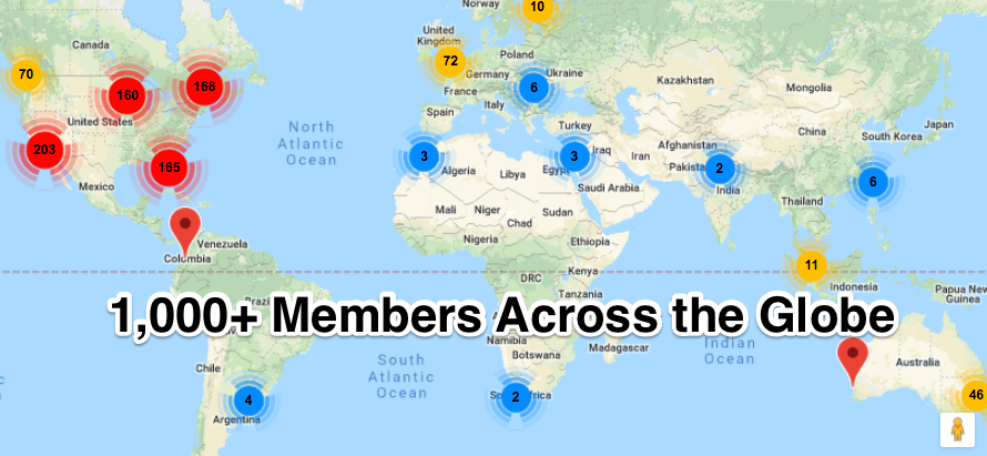 ecommerce forum members around the world