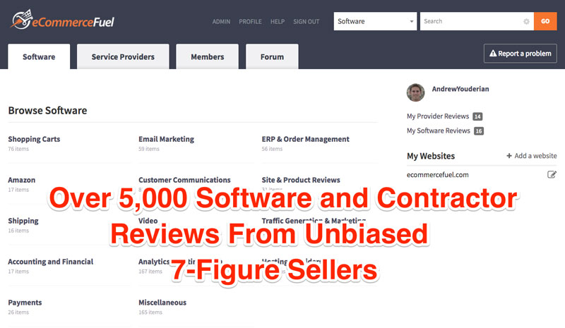 eCommerce Software Reviews