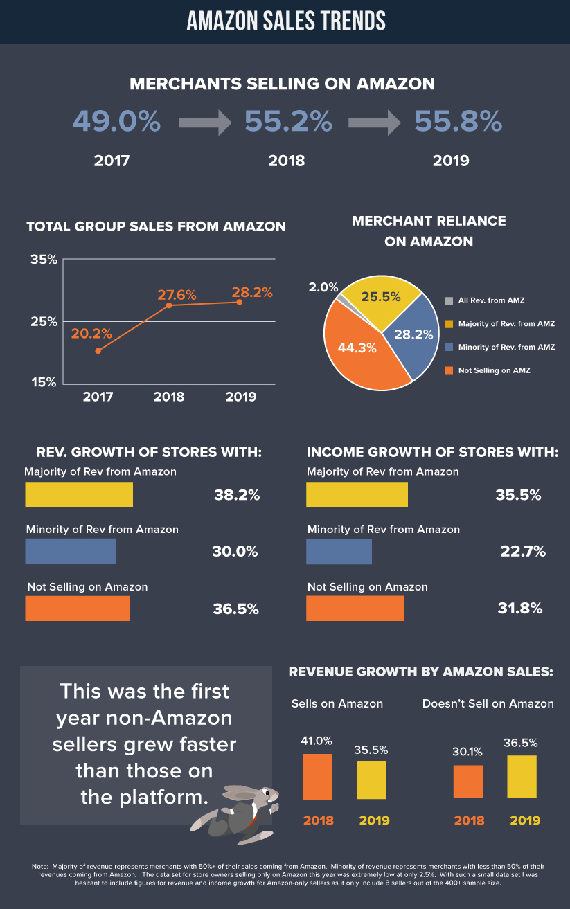 Amazon Sales Trends Revenue Growth 2019