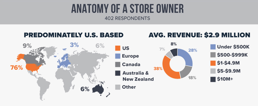 Anatomy of a store owner infographic