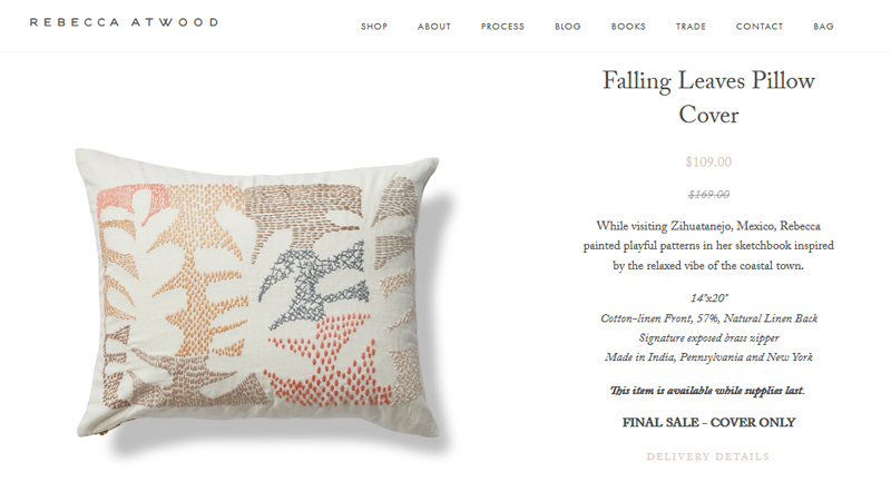 Rebecca atwood product page