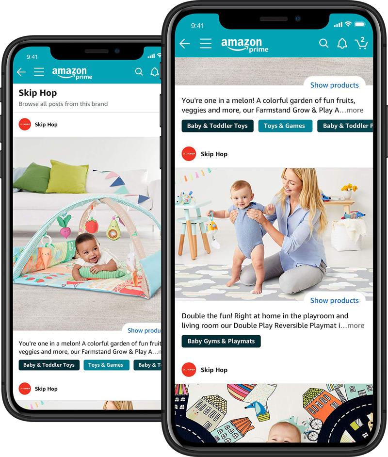 posts Amazon marketing feature