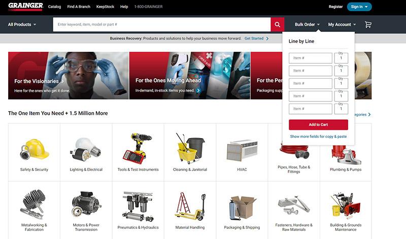 Grainer homepage