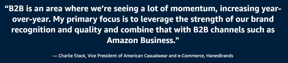 Charlie Stack, Vice President of American Casualwear