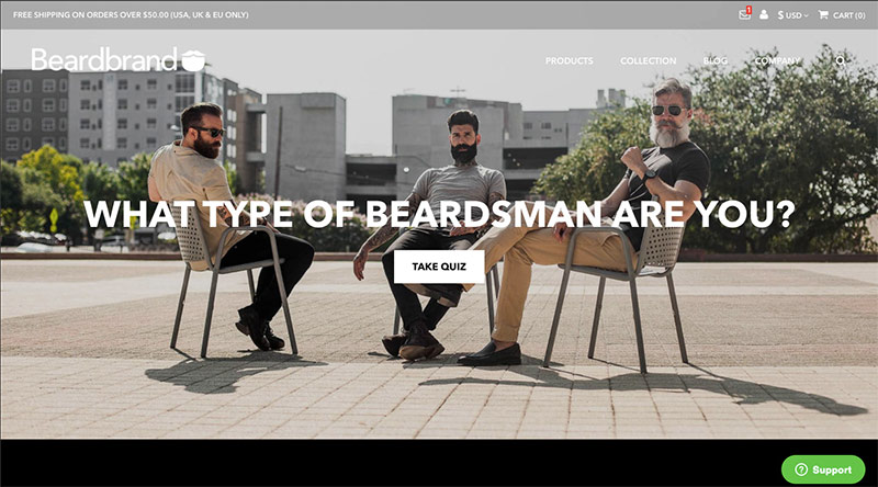 beard brand