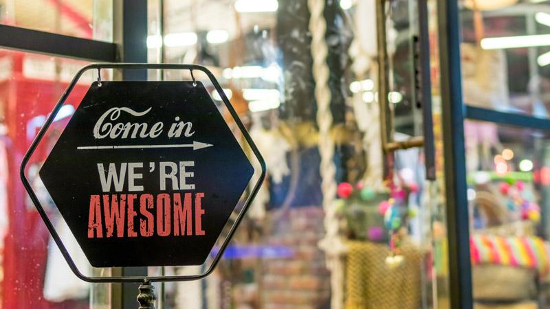 Come in we are awsome