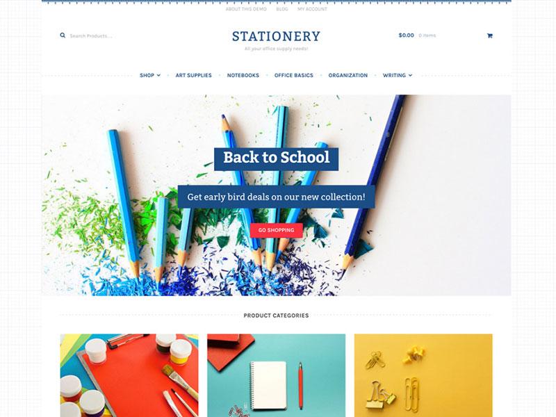 Stationery theme