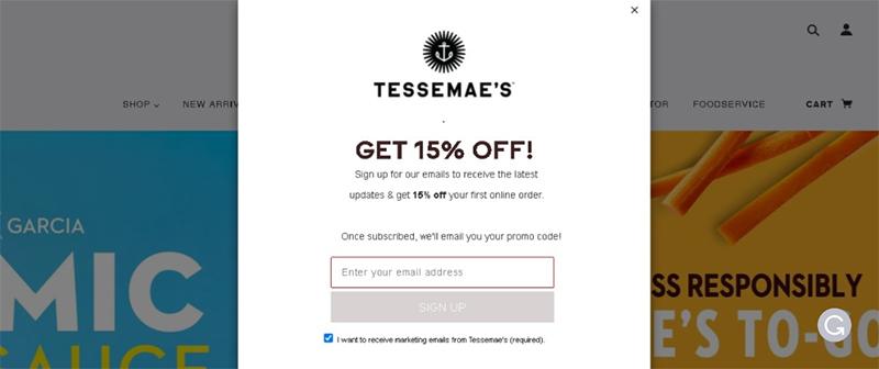 Tessemae's homepage