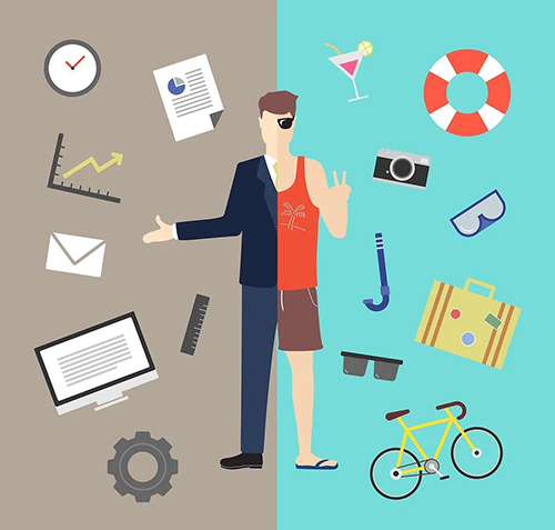 work-life balance in online business