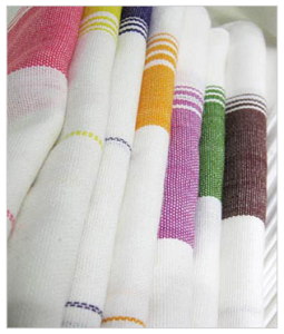 Towels from Real Simple